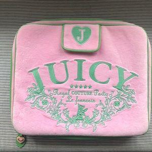 Juicy Couture Computer Case Bubblegum Pink & Green